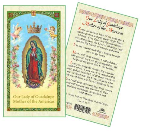 Laminated Prayer Cards