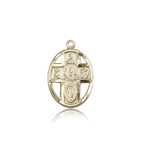 5-WAY / CHALICE Cross Pendant