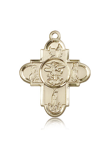 OUR LADY 5-WAY Cross Pendant