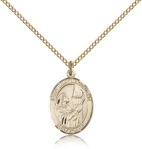 ST. MARY MAGDALENE Medal 8071GF/18GF