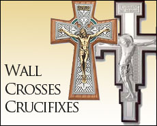 wall crucifixes and crosses